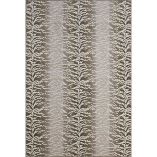 "Stark Studio Rugs Tabby Stone Rug - 5'3"" X 7'10"" For Sale"