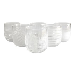 Salviati Crystal Liqueur Glasses - Set of 6