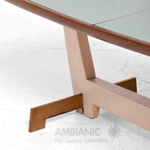 1960s Custom Coffee Table After Gio Ponti For Sale - Image 5 of 6