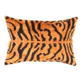 Tigress Velvet Pillow Cover For Sale