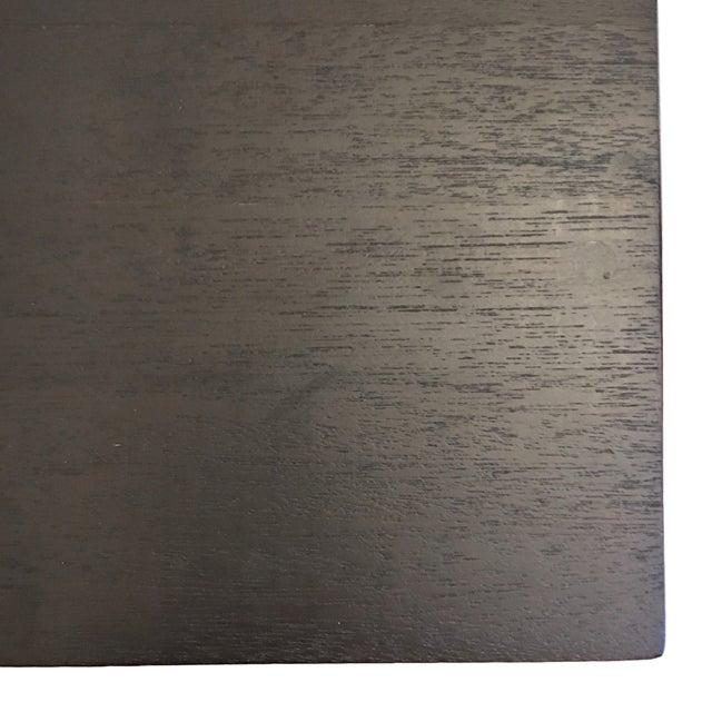 Modern Black Wood Nesting Tables - Set of 3 - Image 5 of 6