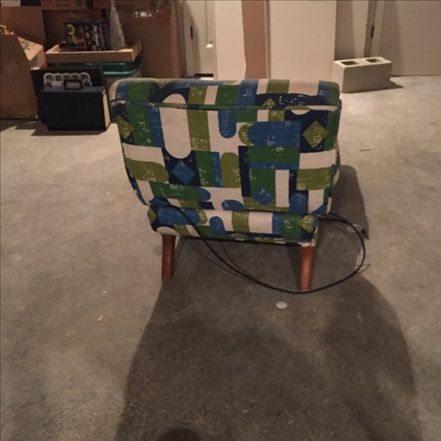 Vintage Mid-Century Automatic Recliner - Image 5 of 7