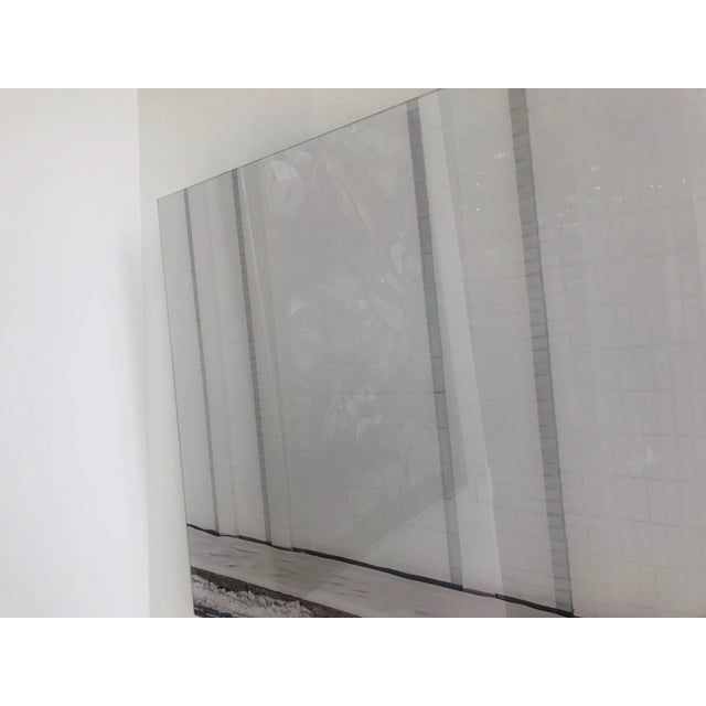 Paper Contemporary Urban Storefront Plexi Mounted Photograph For Sale - Image 7 of 13