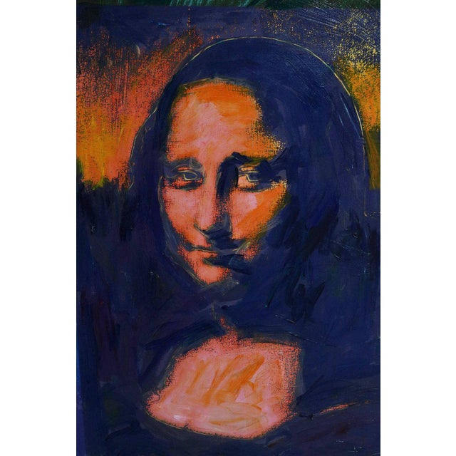 Giclee on Canvas Painting of Warhol's Mona Lisa For Sale In West Palm - Image 6 of 12