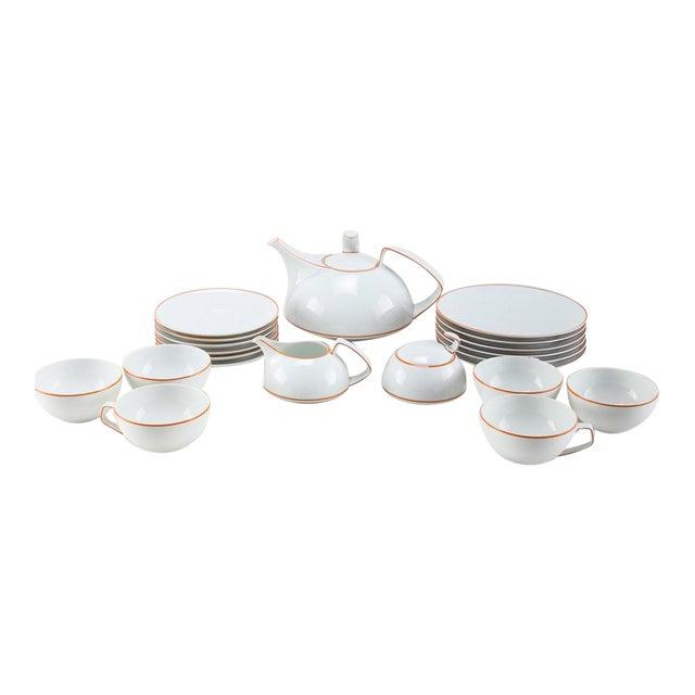 Walter Gropius Rosenthal Studio Line TAC Tea Set - Set of 21 | Chairish