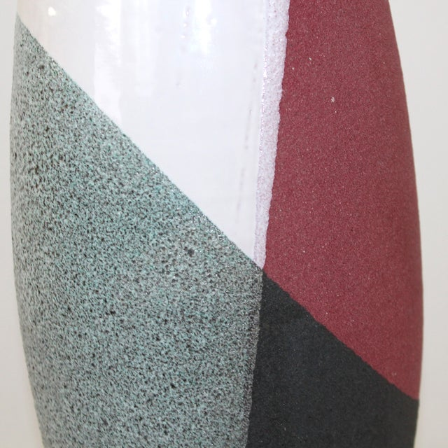 Ettore Sottsass for Bitossi Pottery Lamp For Sale - Image 6 of 10
