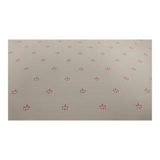 "Ann Dennis ""Simone"" Rose on White Wallpaper For Sale"