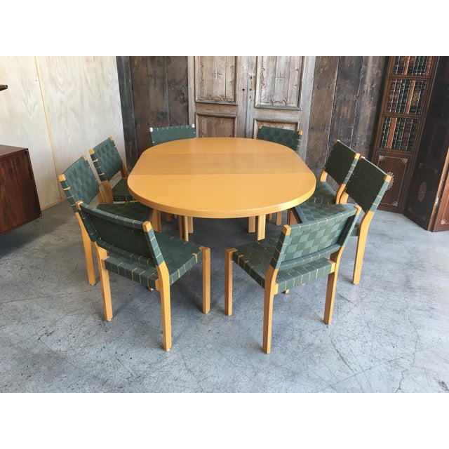 Alvar Aalto Alvar Aalto Dining Chairs - Set of 8 For Sale - Image 4 of 12