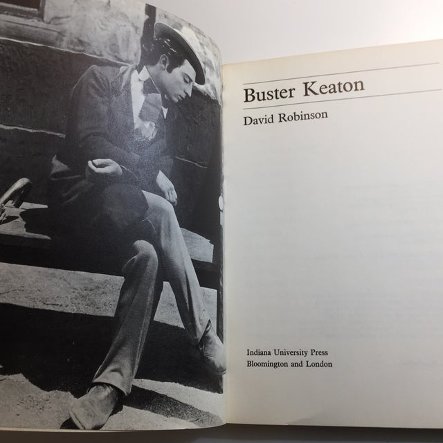 """Contemporary 1970 """"Buster Keaton"""" David Robinson Book For Sale - Image 3 of 11"""