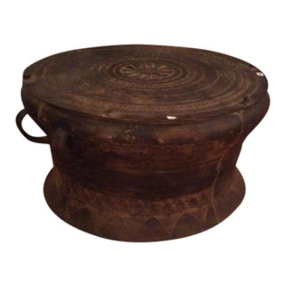 Tibetan Bronze Rain Drum For Sale