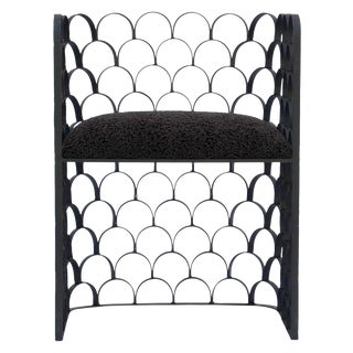 """The Sculptural """"Arcature"""" Side Chair For Sale"""
