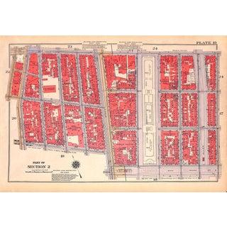 New York City, Old St. Patrick's, Houston, Prince, Rivington, Sullivan St. W. Broadway, 6th Ave (Pl. 19-20) 1934 For Sale