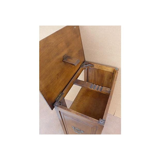 Vintage Adjustable Maple Wood Podium For Sale - Image 9 of 11