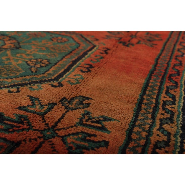 Handmade by semi-nomadic tribes who live along theTurkish Mediterranean coast. Type of Rug: Anadol Country of...