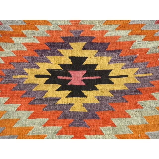 Anatolian Turkish Classic Kilim Rug For Sale - Image 11 of 13