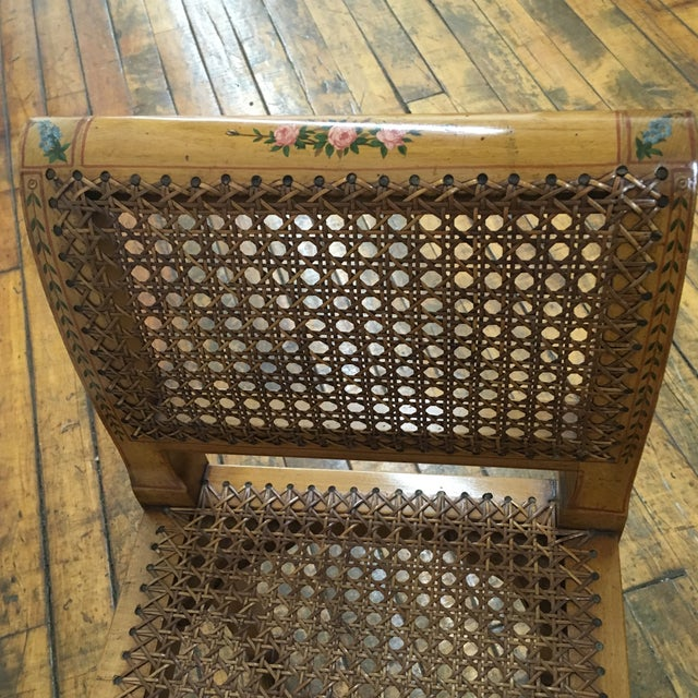 English Hand Chained Bench - Image 5 of 11