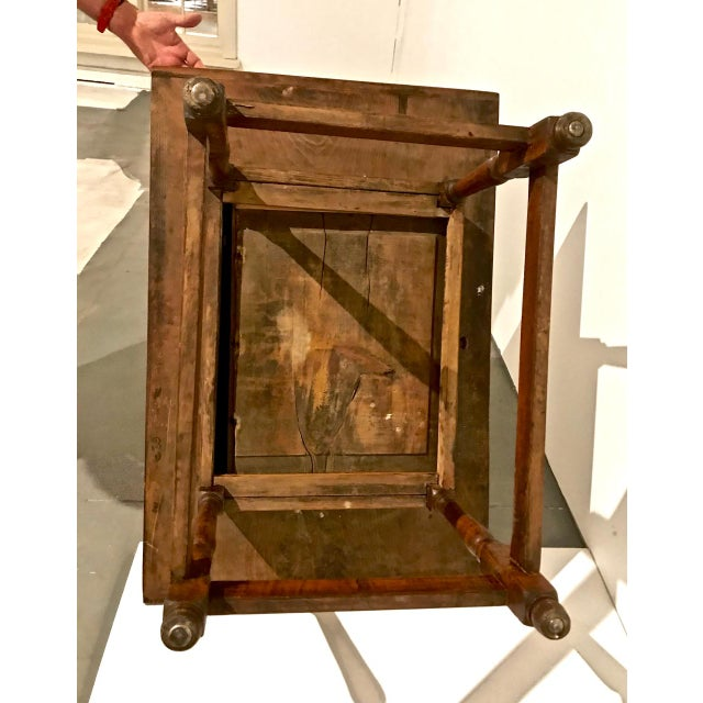1790 Traditional Tavern Center Table For Sale - Image 10 of 12