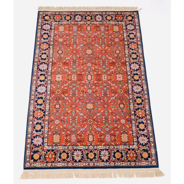 Vintage Serapi #729 Karastan Wool Rug - 8′8″ × 12′ For Sale - Image 11 of 11