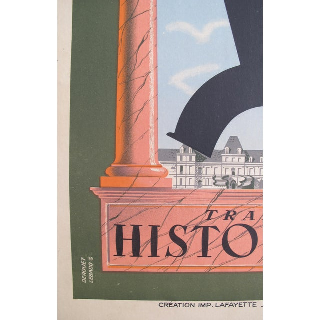 1939 French Loterie National Poster, Tranche Historique - Image 3 of 4