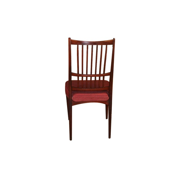 6 Svante Skogh Rosewood Cortina Dining Chairs For Sale In Baltimore - Image 6 of 13