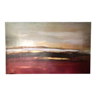 Carol Benson-Cobb Large Abstract Original Oil on Canvas Painting For Sale