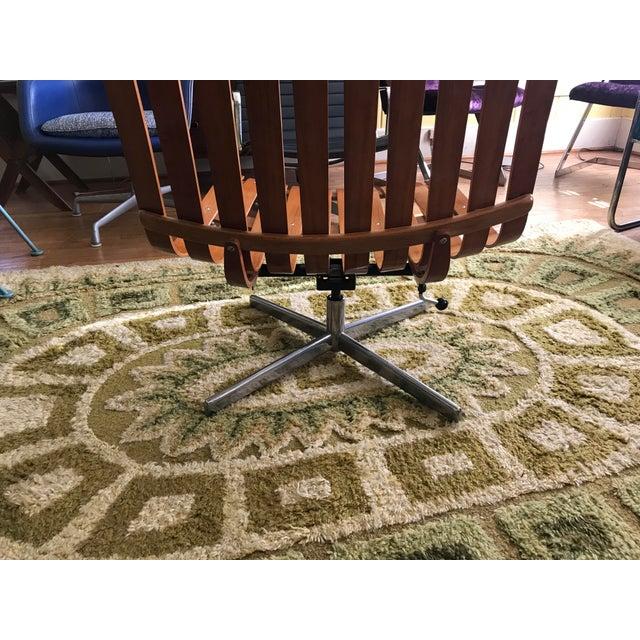 "Mid-Century Modern 1950's Vintage Hans Brattrud Teak ""Scandia"" Lounge Chair For Sale - Image 3 of 9"