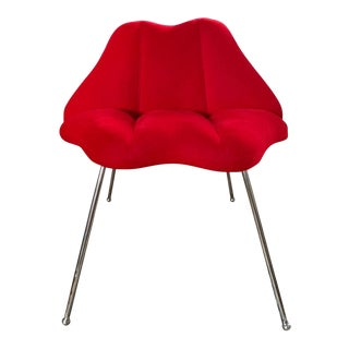 Marilyn Monroe Red Kiss Chair For Sale