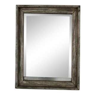 French Beveled Wall Mirror For Sale