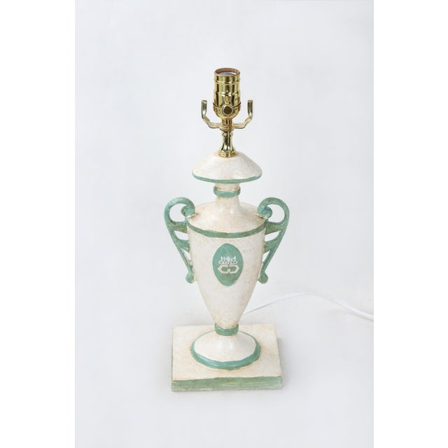 Vintage urn with Dutches & Duke of Windsor' cypher in front and back. There are 2 pcs available.