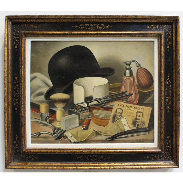 Charles Cerny (1892-1965) was a Czech painter who specialized in still life paintings. His favorite themes were maritime...