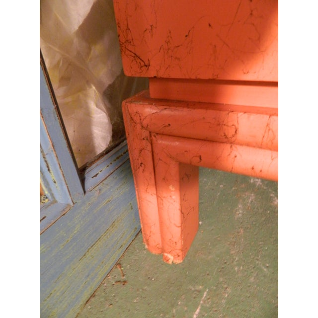 Vintage Ficks Reed Coral Sideboard - Image 6 of 11