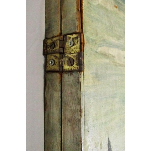 Enamel 1930s Russian Fairy Tale Floor Screen For Sale - Image 7 of 13