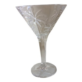 One Crystal Palm Tree Martini Glass By Godinger