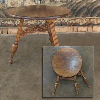 19th Century Round Tripod Folding End Table Preview