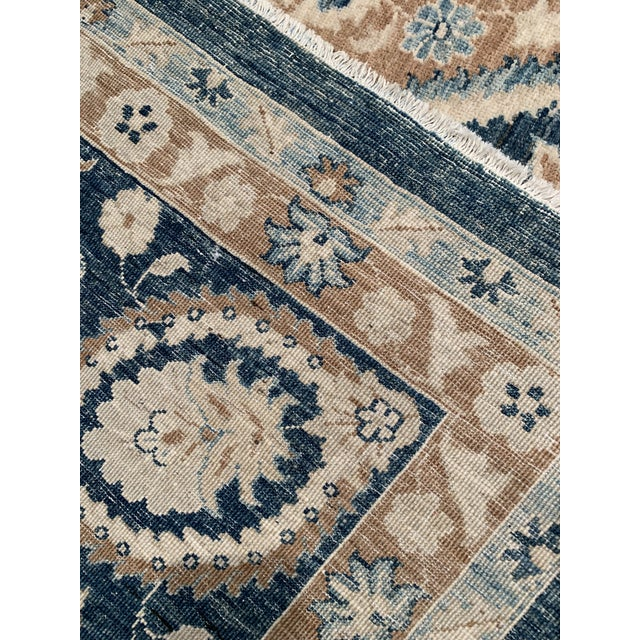Cotton Traditional Pasargad 21st Century Tabriz Haj Jalili Hand-Knotted Rug - 9′9″ × 13′10″ For Sale - Image 7 of 9