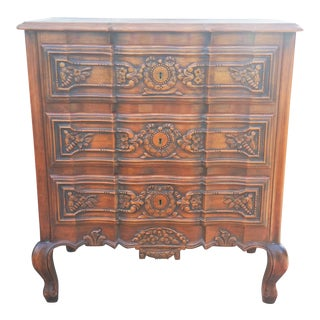 20th Century French Country Oak Dresser Chest For Sale