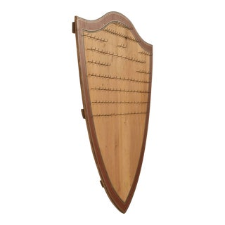 Antique English Key Board or Key Rack For Sale