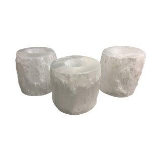Crystal Rock Votives - Set of 5 For Sale