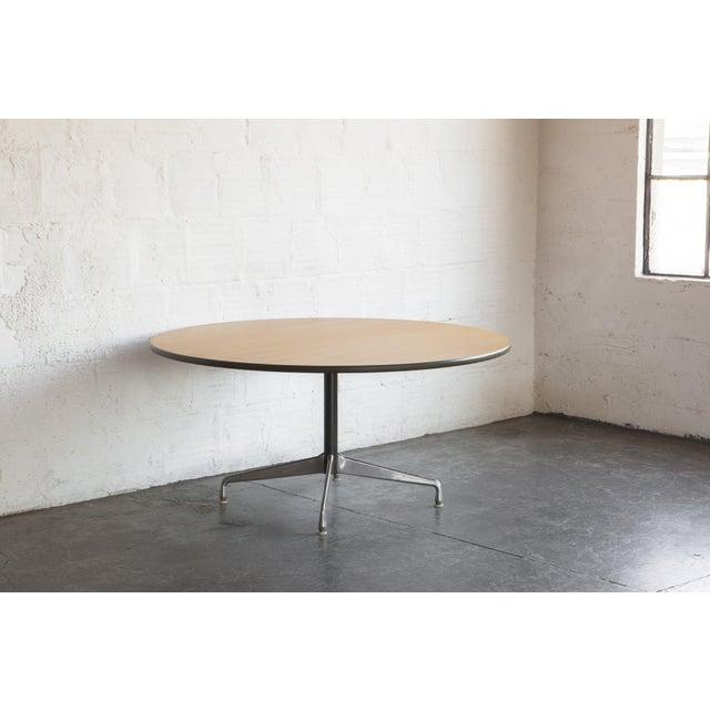 Herman Miller Oak Dining Table - Image 4 of 5