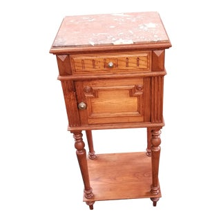 Antique French Louis XVI Side Table/Nightstand