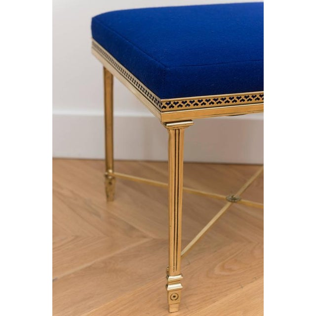 Single Italian Brass Stool - Image 4 of 5
