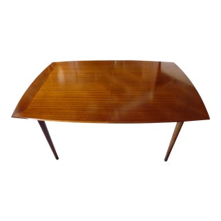 Mid-Century Brown Saltman Dining Table For Sale