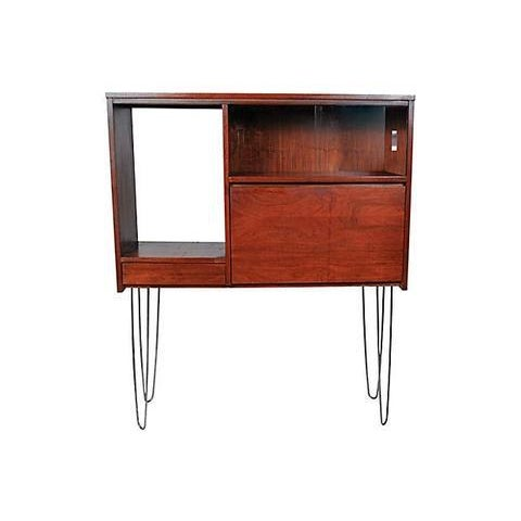 1960s Walnut Cabinet with Hairpin Legs - Image 5 of 6