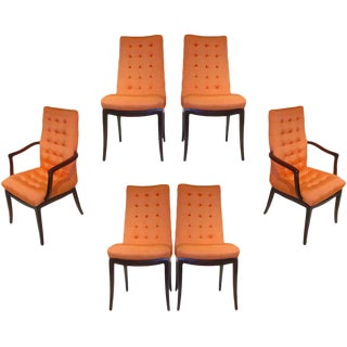 Directional Dining Chairs Set of Six For Sale