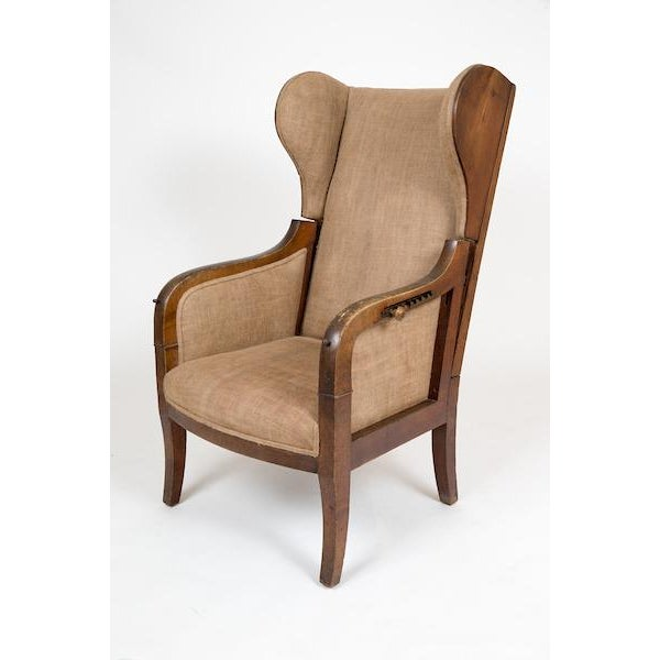 Reclining Wing Chair - Image 2 of 6