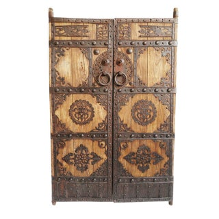 Mongolian Vintage Door For Sale