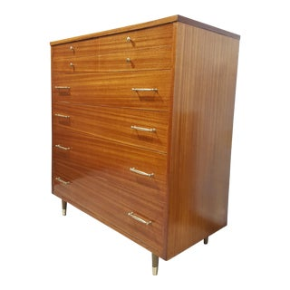 Vintage Refinished R-Way Chest of Drawers For Sale