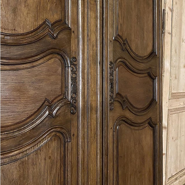 Pair Plaquards ~ Armoire or Cabinet Doors, 19th Century For Sale In Dallas - Image 6 of 12