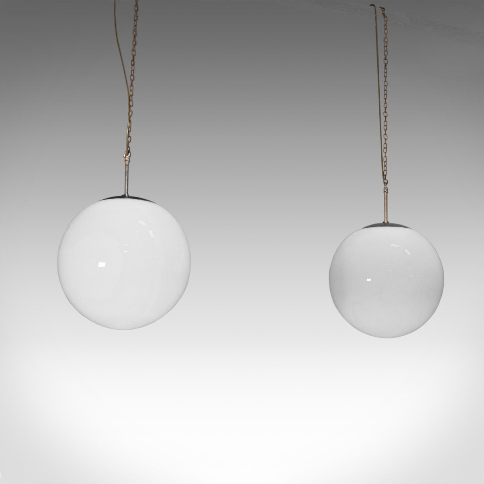 Hanging vintage opaline