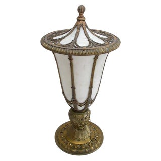 Early 20th Century Urn Table Lamp For Sale